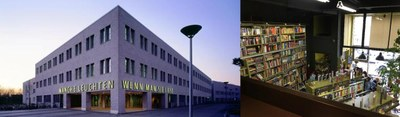 university library Kiel, bookshop Saint Petersburg