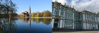 Kieler Rathaus, Winterpalast in St. Petersburg