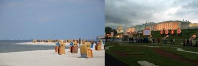 beach Laboe, Peterhof Palace
